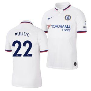 Chelsea Christian Pulisic White Jersey